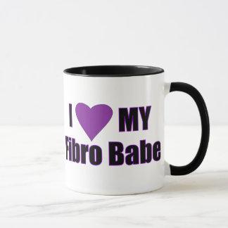 J'aime mon bébé fibro tasse