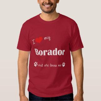 J'aime mon Borador (le chien femelle) T-shirt