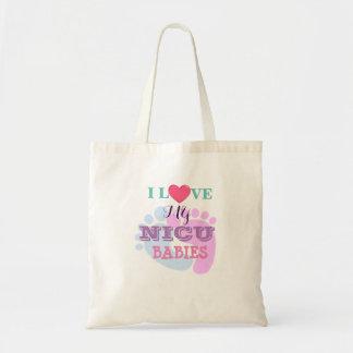 J'aime mon budget Fourre-tout de bébés de NICU Tote Bag
