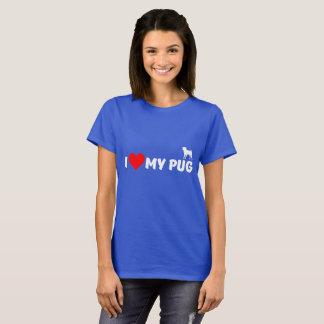 J'aime mon carlin t-shirt