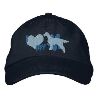 J'aime mon casquette brodé de poseur de Gordon Casquette Brodée