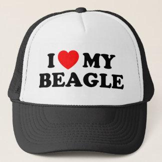 J'aime mon casquette de beagle