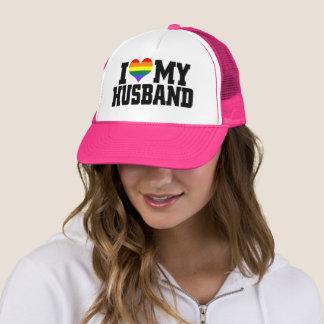 J'aime mon casquette de camionneur de mari