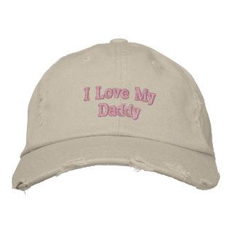 J'aime mon casquette de papa casquette brodée
