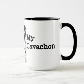J'aime mon Cavachon Tasse