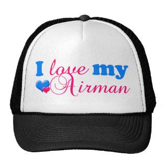 J'aime mon chapeau d'aviateur casquettes de camionneur