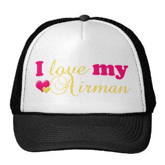J'aime mon chapeau d'aviateur casquette de camionneur