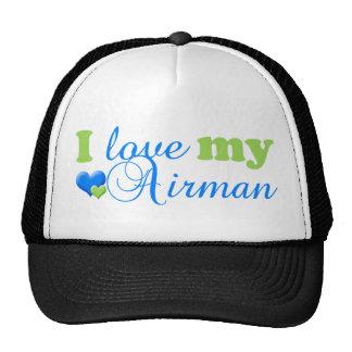 J'aime mon chapeau d'aviateur casquette trucker