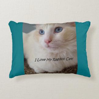 J'aime mon chat de Ragdoll Coussins Décoratifs