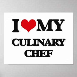 J'aime mon chef culinaire