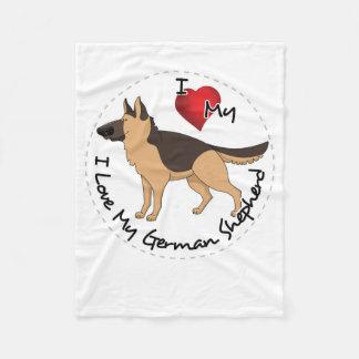 J'aime mon chien de berger allemand