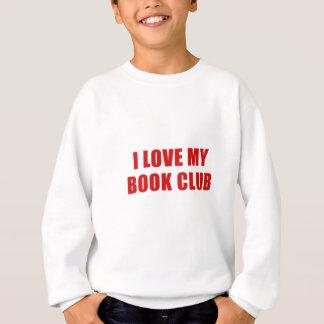 J'aime mon club de lecture sweatshirt
