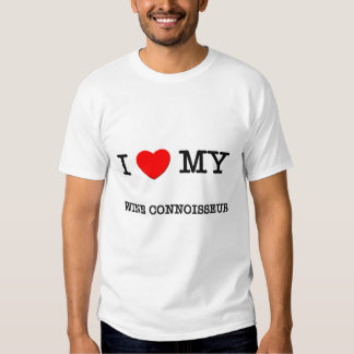 J'aime mon CONNAISSEUR de VIN T-shirt