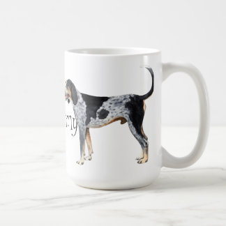J'aime mon Coonhound de Bluetick Mug