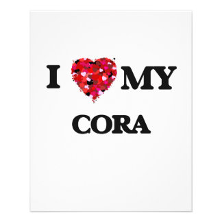 J'aime mon Cora Prospectus 11,4 Cm X 14,2 Cm