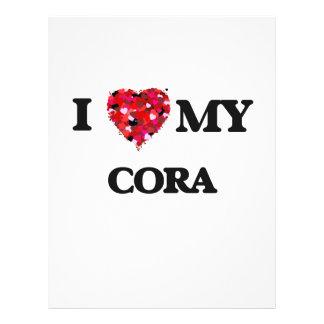 J'aime mon Cora Prospectus 21,6 Cm X 24,94 Cm