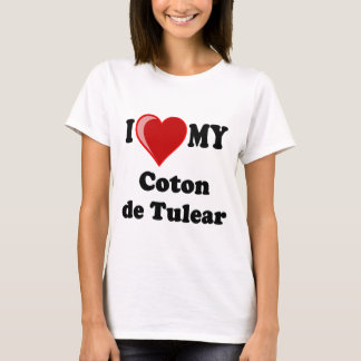 J'aime mon coton De Tulear Dog T-shirt