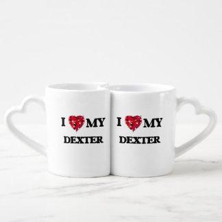 J'aime mon Dexter Mug Amoureux