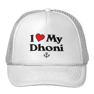 J'aime mon Dhoni Casquettes De Camionneur