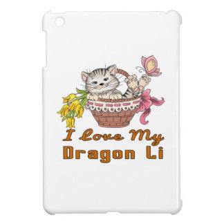 J'aime mon dragon Li Étuis iPad Mini