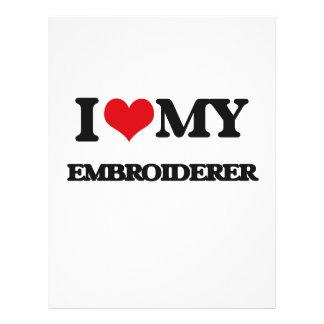 J'aime mon Embroiderer Prospectus Personnalisés