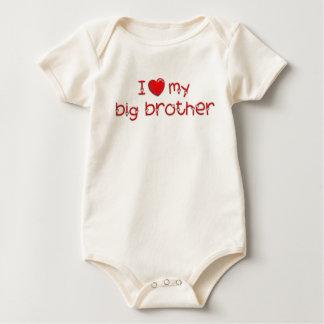 J'aime mon frère bodies pour bébé