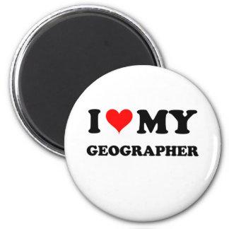 J'aime mon géographe aimant