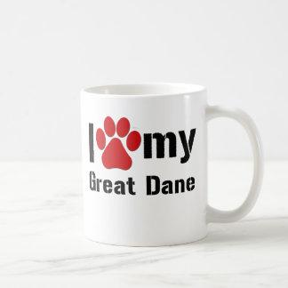 J'aime mon great dane mug