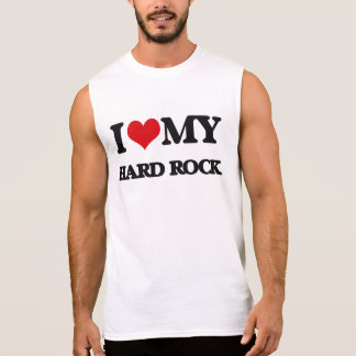 J'aime mon HARD ROCK T-shirts Sans Manches