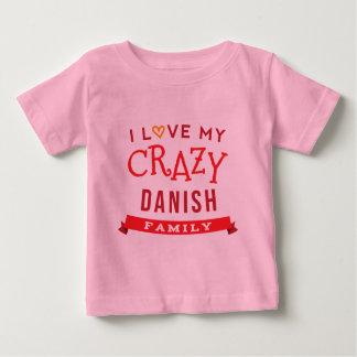 J'aime mon idée danoise folle de T-shirt de la