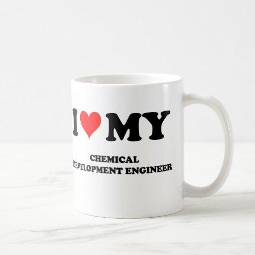 J'aime mon ingénieur de développement chimique tasse