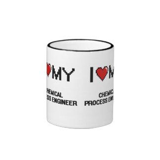 J'aime mon ingénieur des méthodes chimique mug ringer