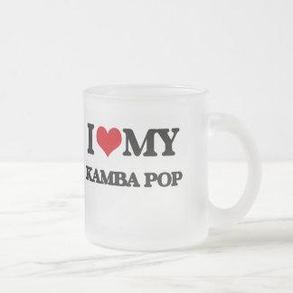 J'aime mon KAMBA POP Tasse À Café