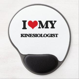J'aime mon Kinesiologist Tapis De Souris Avec Gel