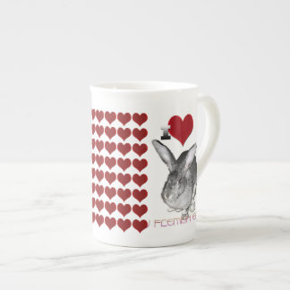 J'aime mon lapin géant flamand mug