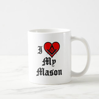 J'aime mon maçon mug