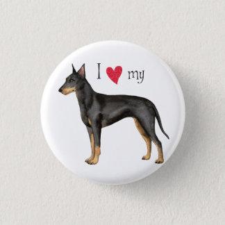 J'aime mon Manchester Terrier Badges