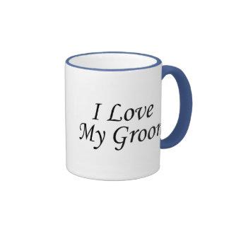 J'aime mon marié (la jeune mariée) mug ringer