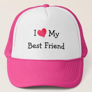 J'aime mon meilleur ami casquette