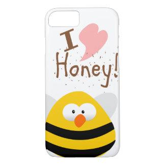 J'AIME MON MIEL COQUE iPhone 7