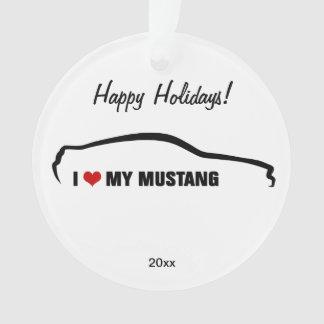 J'aime mon mustang !