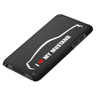 J'aime mon mustang coque barely there iPod