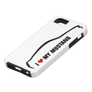 J'aime mon mustang coque iPhone 5 Case-Mate