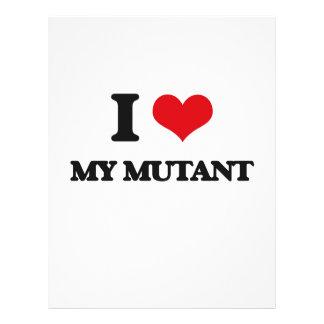 J'aime mon mutant prospectus personnalisés