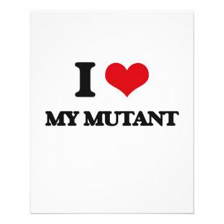 J'aime mon mutant tract