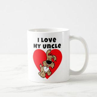 J'aime mon oncle - tasse de Saint-Valentin de