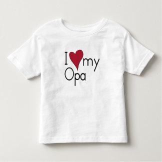J'aime mon Opa T-shirt Pour Les Tous Petits