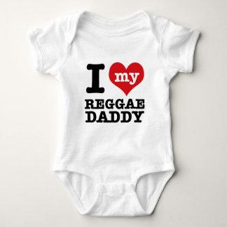 J'aime mon papa de danseur de reggae t-shirts