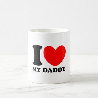 J'aime mon papa mug blanc