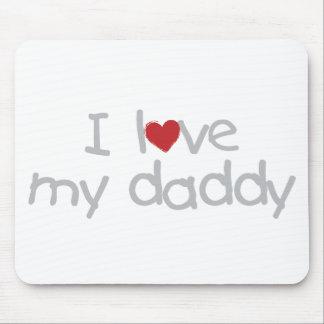 J'aime mon papa tapis de souris